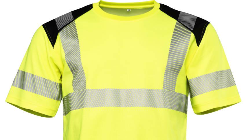T-shirt Worksafe Unisex Perform Cl3 HiVis