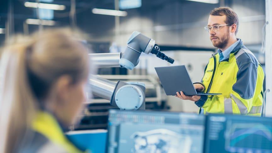 Robot-arm, industri