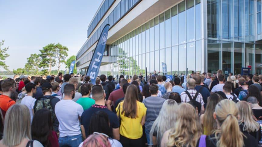 Det är en rekordstor ökning av antalet sökande till höstens utbildningar vid BTH, Blekinge Tekniska Högskola.