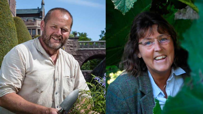 Trädgårdsexperten och tv-personligheten John Taylor samt författaren och kulturvetaren Elisabeth Svalin Gunnarsson är några av de medverkande som kommer till årets Nolia Trädgård.