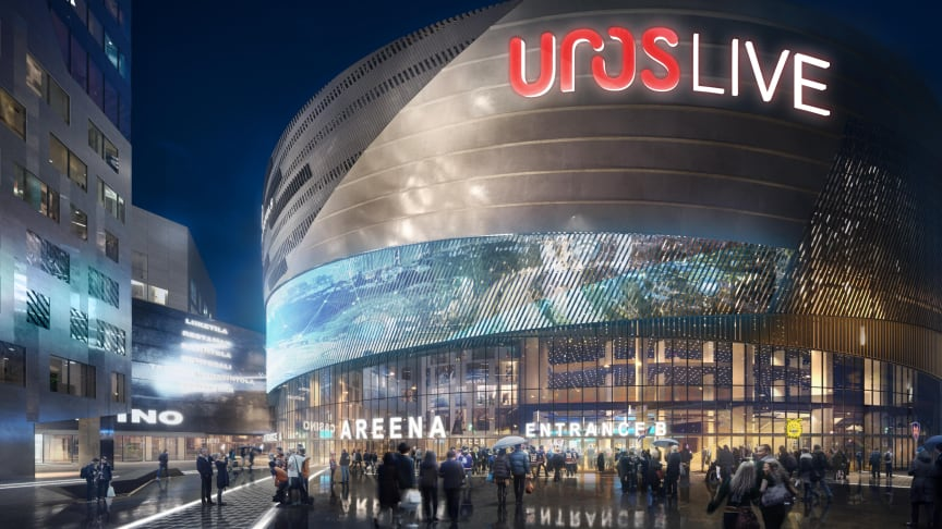 Löfbergs chosen as the official coffee partner of the UROS LIVE arena