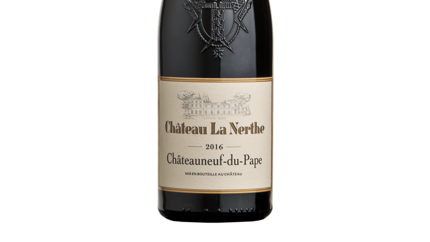 Chateau la Nerthe 2016 rouge-1