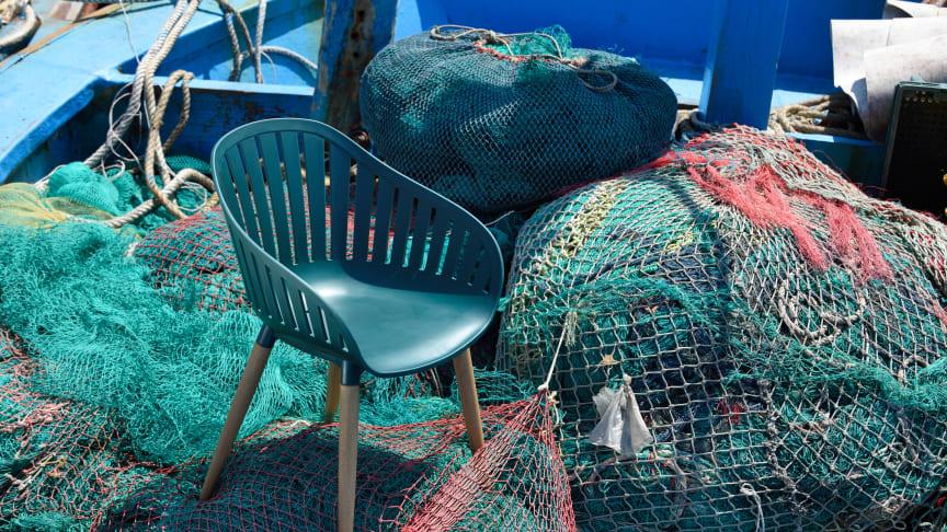 DuraOcean stolen produceret af plast fra verdenshavene