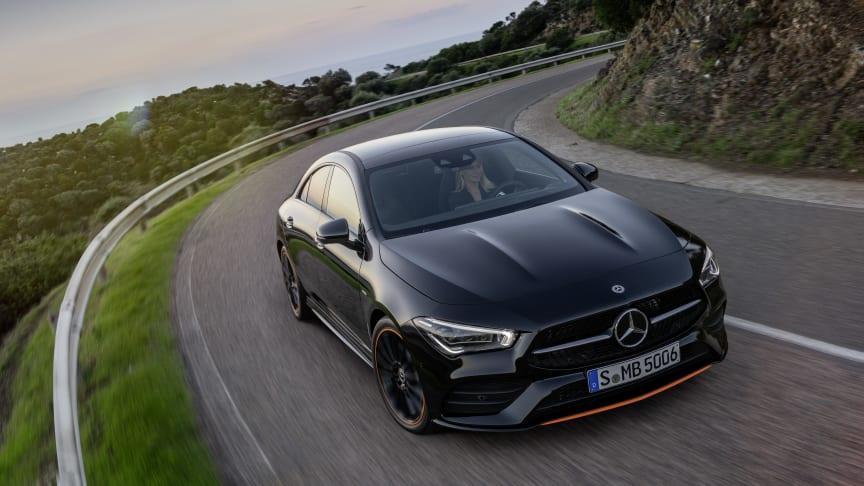 Danske priser på den ny Mercedes-Benz CLA coupé