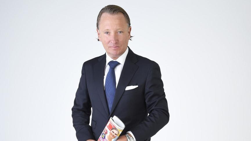 Johan T Lindwall, chefredaktör Svensk Dam