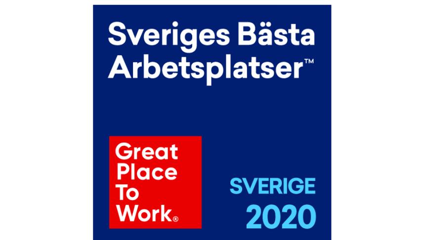 DHL Express är en av Sveriges bästa arbetsplatser 2020