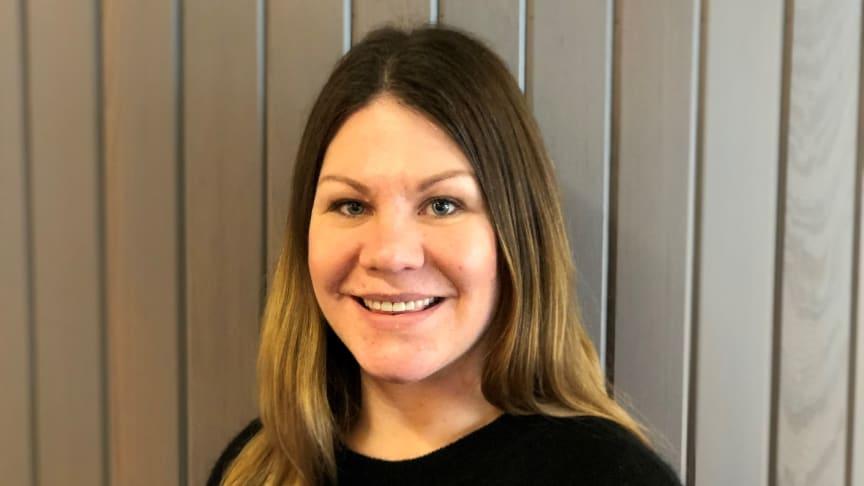 Maria Åkerkvist, ny projektutvecklare på Egnahemsbolaget