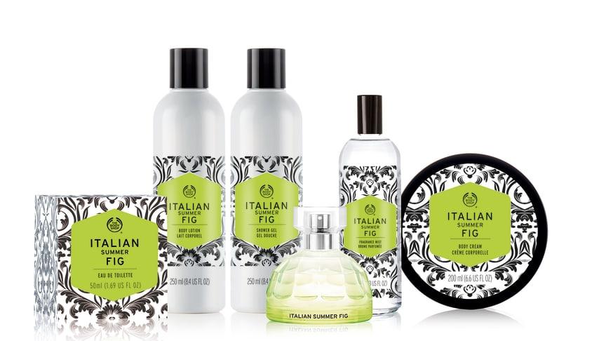 Kiss French - wear Italian! The Body Shop presenterar doftkollektionen Italian Summer Fig