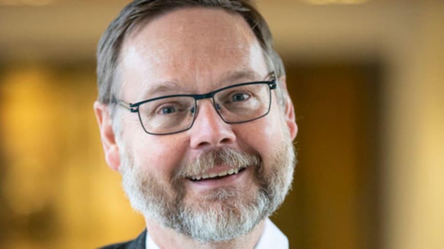 Johan Sterte, rektor Karlstads universitet