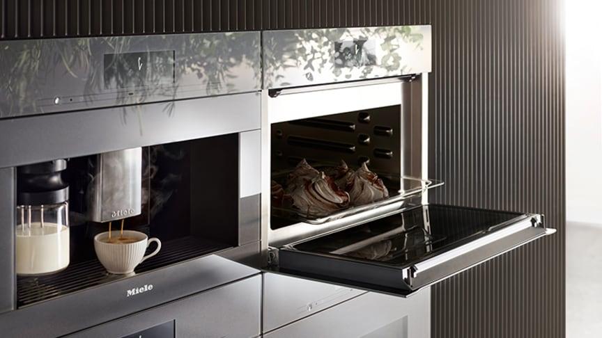 Generation 7000 - en ny generation kaffemaskiner för inbyggnad från Miele