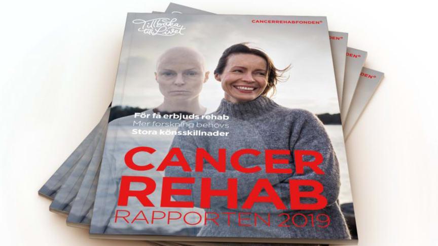 CancerRehabRapporten 2019 sammanfattar nuläget inom cancerrehabilitering.