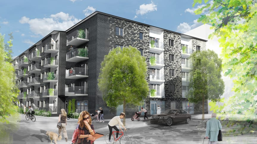 Riksbyggen säljer hyresprojektet Frigg 1 i Hyllie till Bantorget Hyresbostäder AB