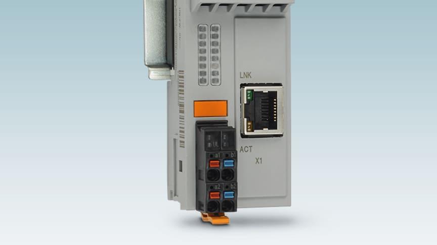 PLCnext kan expanderas med flera nätverksportar