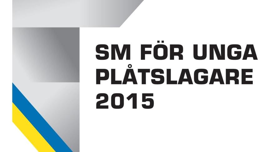 Logo SM för unga plåtslagare 2015