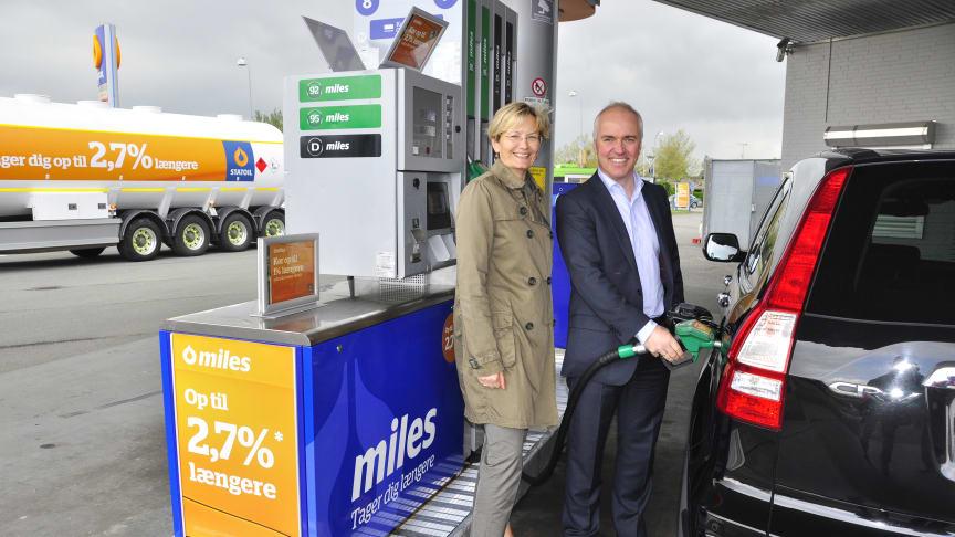 Ny og forbedret benzin og diesel hos Statoil
