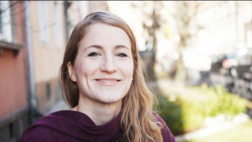 Maja Säfström som vet en massa om finurliga och knepiga djur kommer till Masten 2 onsdag 1 november klockan 10. Foto: privat
