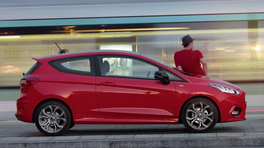 Nový Ford Fiesta bude představen na Friends Festu v Pardubicích