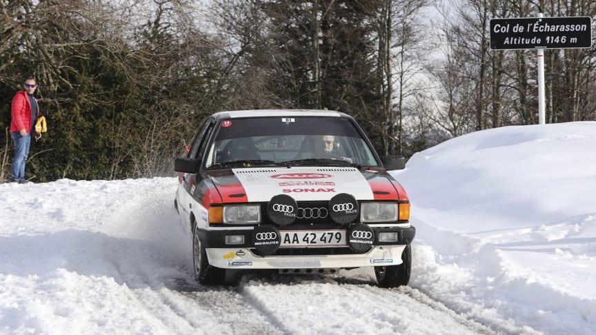 Topplacering til Audi-mandskabet i årets Rallye Monte-Carlo