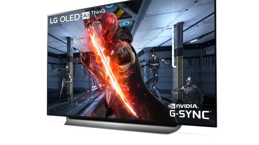 LG først ut med støtte for NVIDIA G-Sync på OLED-TV