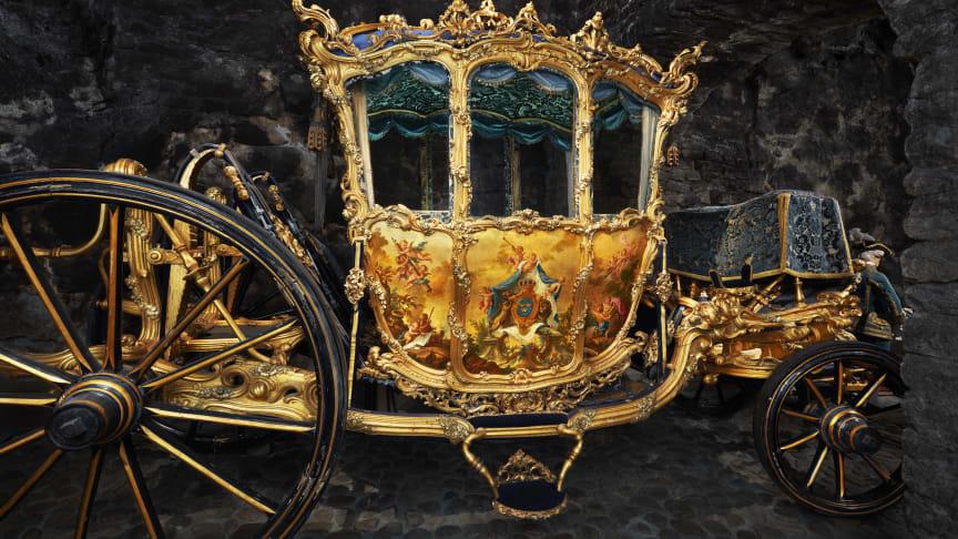 Upplev de kungliga mäktiga och anrika vagnarna på Livrustkammaren