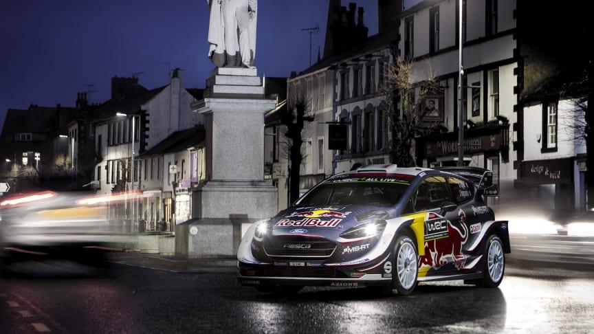 Ford Fiesta WRC pro rok 2018