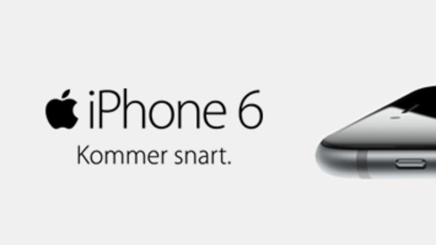 Telenor säljstartar iPhone 6 och iPhone 6 Plus