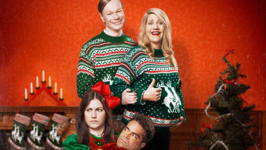 Christmas Comedy 2015! David Batra, Johan Glans, Emma Knyckare & Nour El-Refai