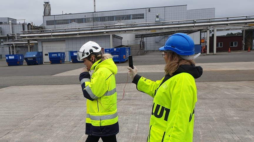 Anna Schreil, VP Productions & Maria Beres, Corp communications Åhus