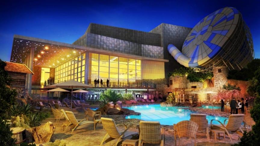 NCC bygger Lisebergs nya vattenpark och hotell