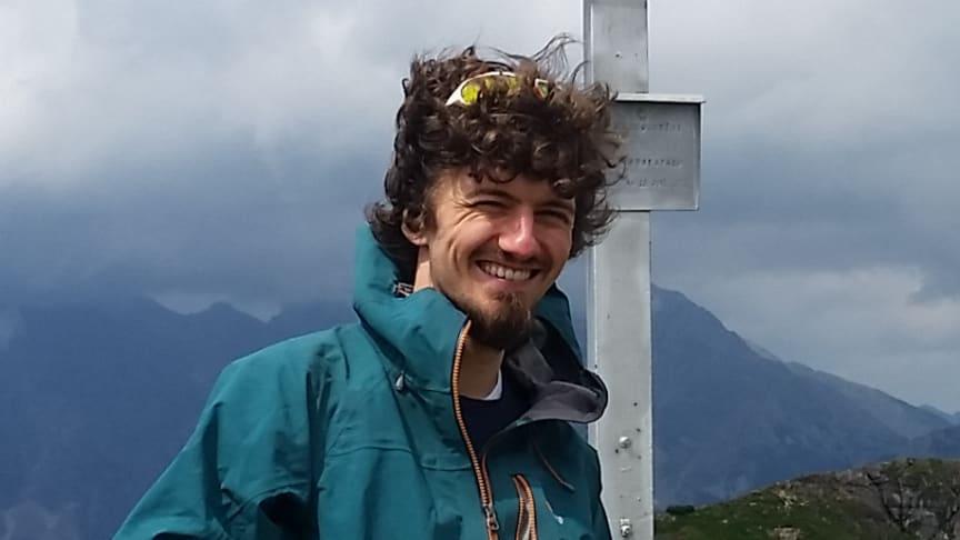 Sebastian Scher, forskare vid Meteorologiska institutionen.