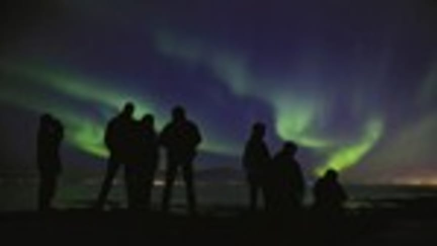 Oplev nordlys i island med Icelandair