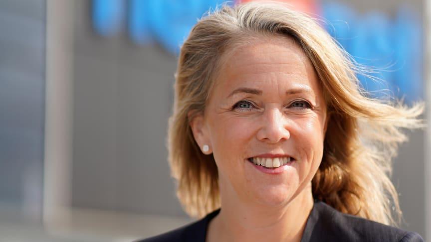 Kristina wärmare, ny PR- och kommunikationschef för NetOnNet. Foto: NetOnNet