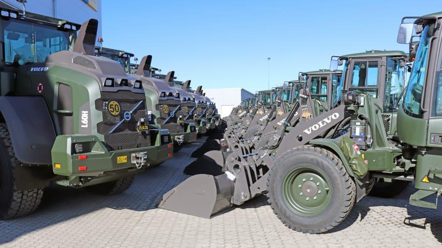 Volvo hjullastare till FMV - L60H och L35G