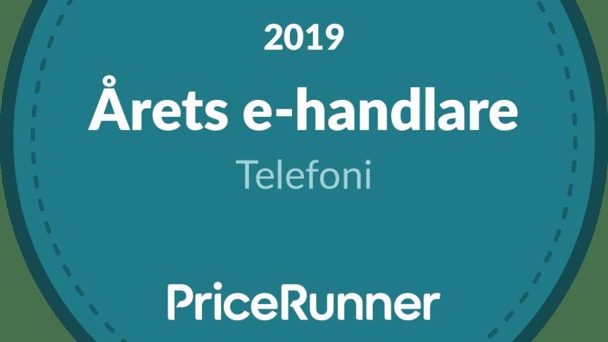 Pricerunners besökare utser NetOnNet till Årets e-handlare inom Telefoni för fjärde året i rad