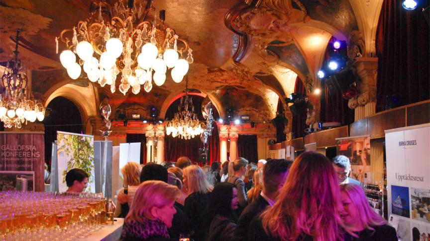 Lyxtorsdag på Café Opera i Stockholm.
