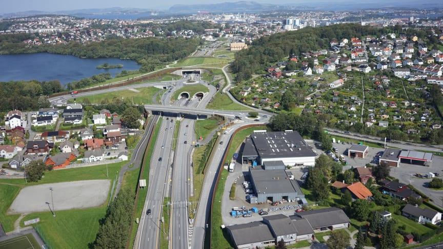 22. april var det offisiell åpning av Ryfast. (Foto: Statens vegvesen)