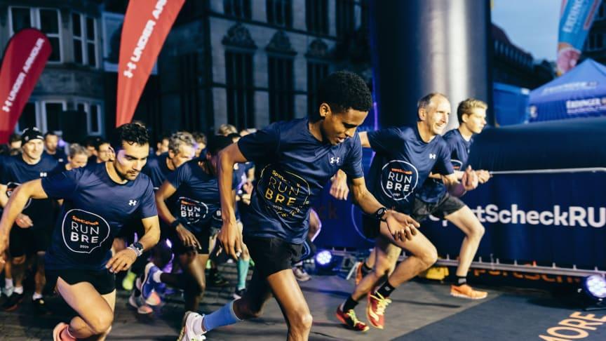 Volle Konzentration beim SportScheck RUN in Bremen 2019
