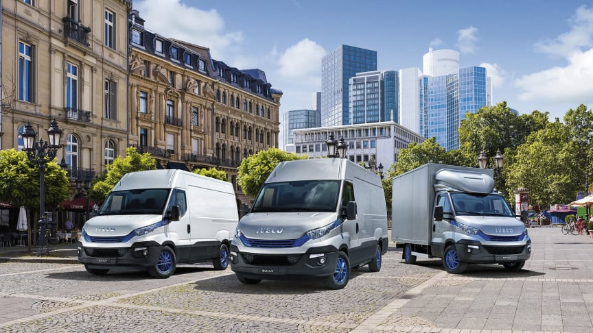 IVECO Daily Blue Power - Bærekraftig mester: International Van of the Year 2018.