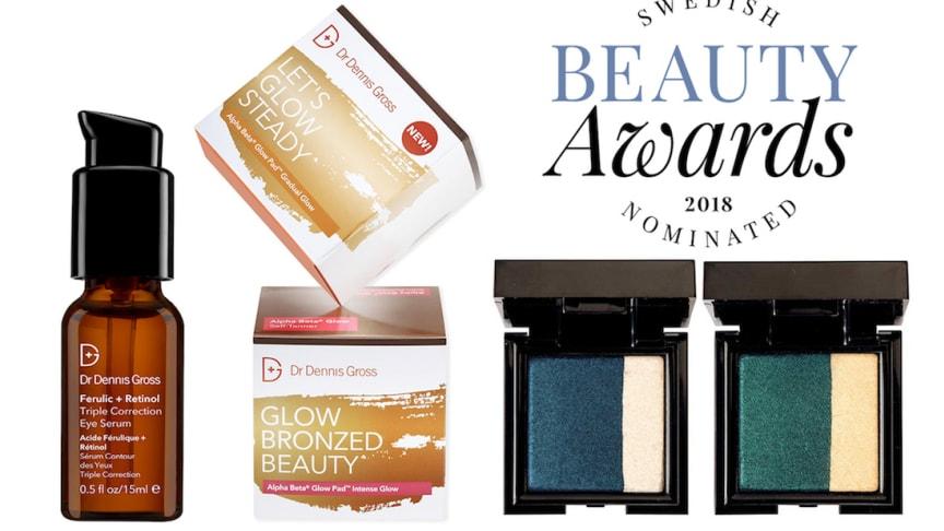 Dr Dennis Gross Skincare och Nouba nominerade i Swedish Beauty Awards 2018