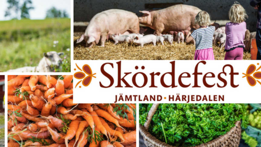 Skördefest den 23 september 2018