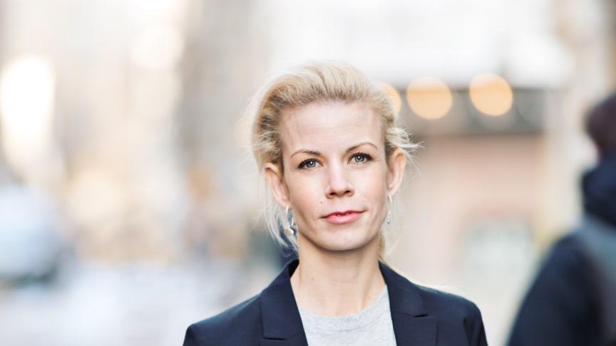 Anna König Jerlmyr, finansborgarråd i Stockholm.