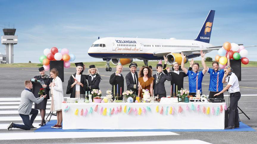 Icelandairs Stopover Buddies er tilbage i topform – skal der være fest så lad der være fest.