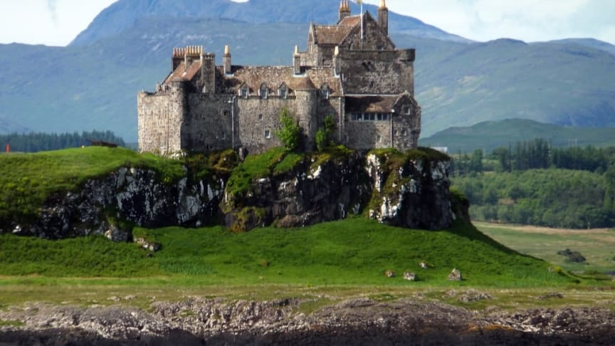 Duart Castle, The ancient of Clan Maclean, Scotland. Credit: Celtic Compass