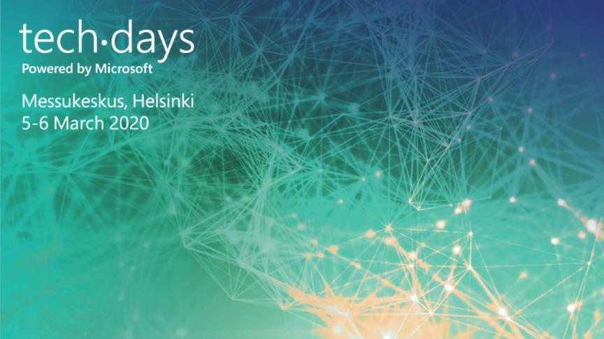 Microsoft TechDays on tulossa taas maaliskuussa!