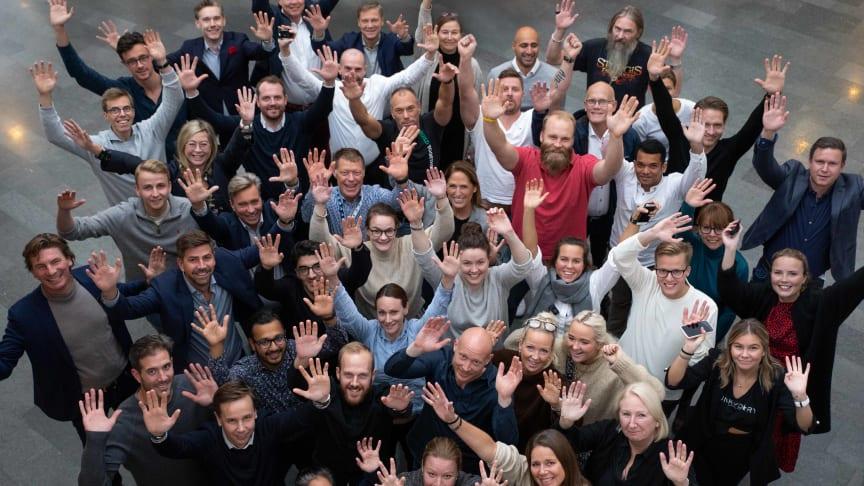 Sveriges bästa medarbetare! Fotograf: Adam Jernberg