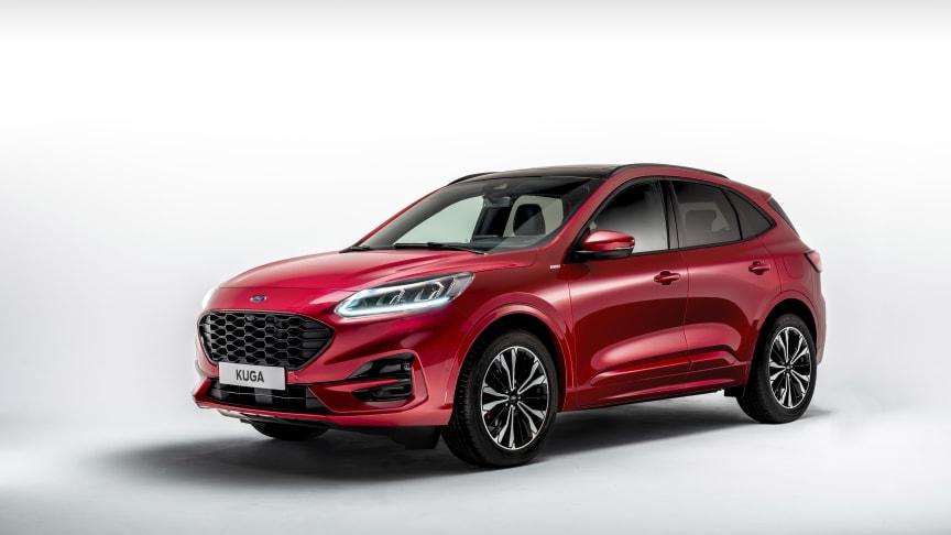 Nový Ford Kuga disponuje celou řadou asistenčních technologií.