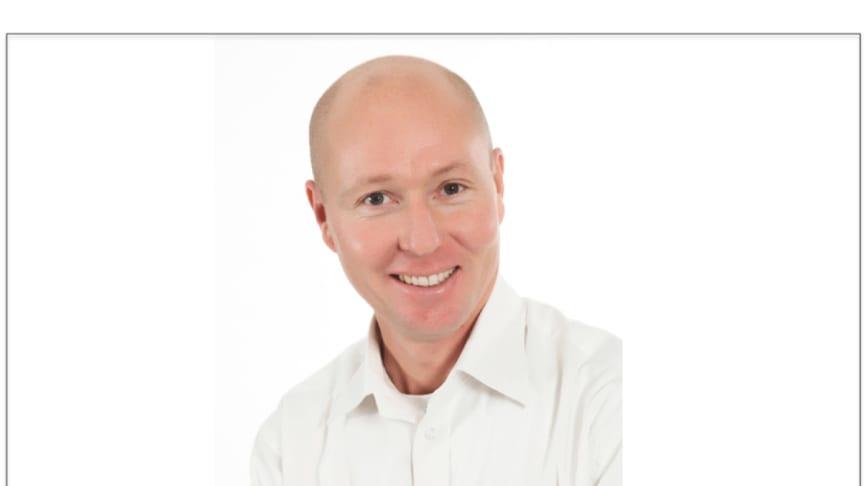 Patrik Rosenlund ny marknadsområdeschef för Riksbyggen Bostad Östergötland