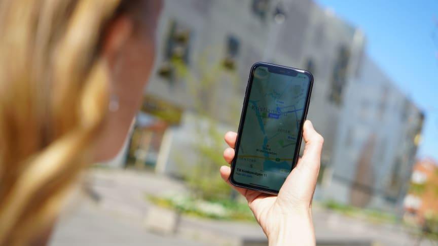 Nu finns fritt wifi utomhus i centrala Kristianstad.