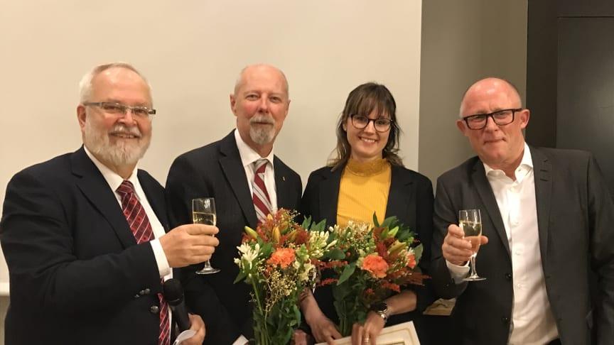 Ola Schön och Lina Dahlbäck blev 2018 års vinnare av Axelpriset