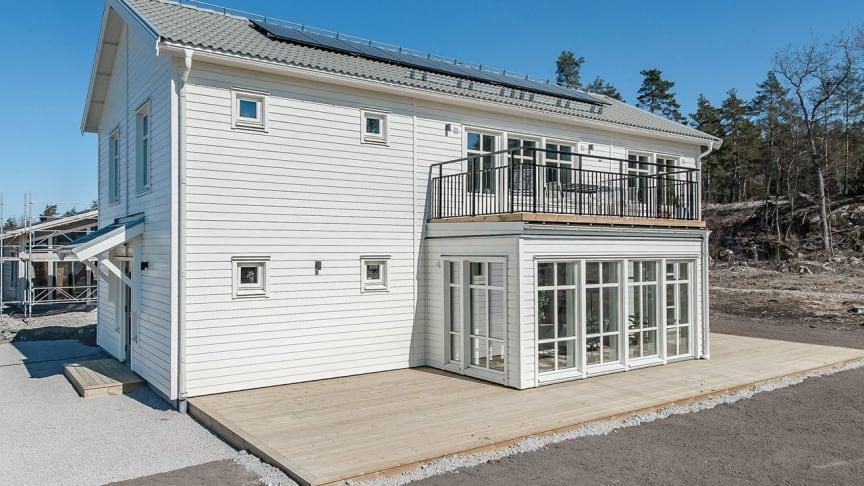 Visningshuset Ängsö i Uppsala